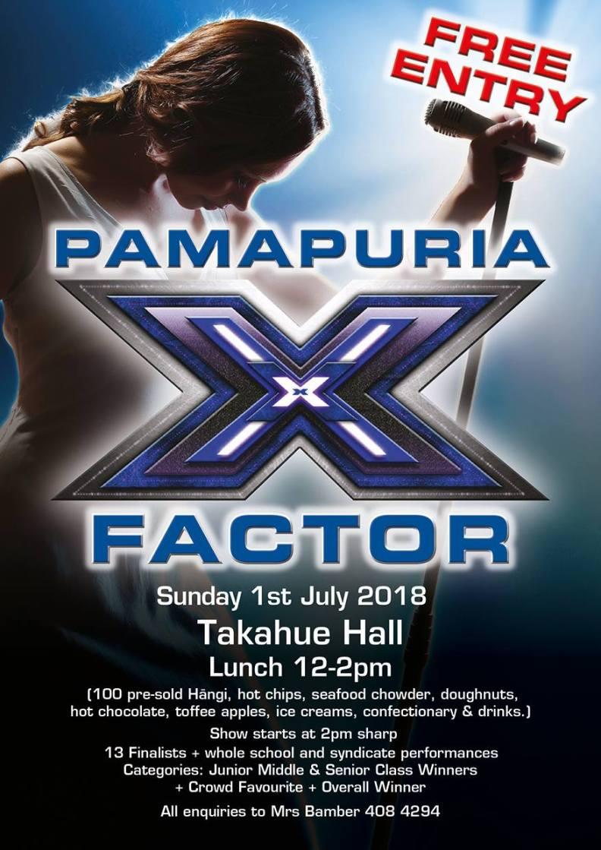 X Factor Pamapuria School